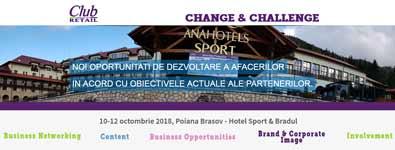 Change & Challenge – conferinta despre reconfigurarea pietei bunurilor de larg consum, la Club Retail 2018