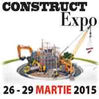 Expertii in constructii, amenajari si instalatii  se intalnesc la Romexpo, intre 26-29 martie 2015