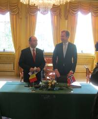 Conventie fiscala intre Romania si Norvegia: Ce a semnat ministrul Aurescu