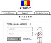 De luni toate taxele si impozitele vor putea fi platite online prin Ghiseul.ro