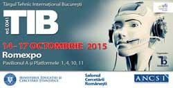 180 de companii, 15 ţări, la TÂRGUL TEHNIC INTERNAŢIONAL BUCUREŞTI 14-17 octombrie, ROMEXPO