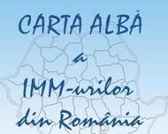 """INVITAȚIE CEL DE-AL 14-LEA RAPORT DE CERCETARE AL CNIPMMR """"CARTA ALBĂ A IMM-URILOR DIN ROMÂNIA"""""""