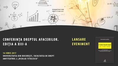 Conferința Dreptul Afacerilor Ediția A XIII-A