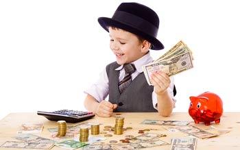 Educatie financiara pentru copii: 4 principii economice pe intelesul celor mici