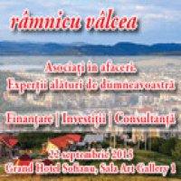 """Asociati in afaceri. Expertii alaturi de dumneavostra""""  continua in orasul Ramnicu Valcea pe 22 septembrie 2015"""
