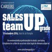 Sales Team UPgrade 2016 – Evenimentul directorilor de vanzari 19 octombrie 2016, Hotel Arc de Triomphe, Bucuresti