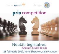 PRIA Competition Conference, cel mai important eveniment dedicat concurentei, va avea loc pe 28 februarie