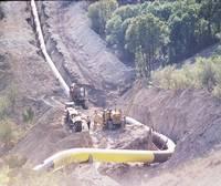 S-a tras pe sub Dunare prima conducta de gaze intre Romania si Bulgaria