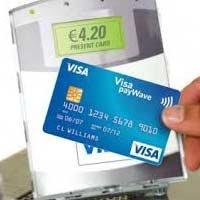 Numarul tranzactiilor contactless efectuate cu carduri in Europa, in crestere