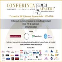 Conferinta Internationala Femei in Afaceri