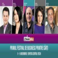 Zilele Biz & Serile Diverta. Primul festival de business printre carti