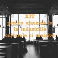 S-a lansat Kit-ul de Afaceri in Industrii Creative