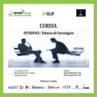 "Curs ""Interviul:Tehnica de investigare"""