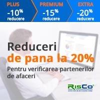 Reduceri de 20% la abonamentele RisCo!