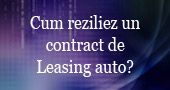 Cum reziliez un contract de Leasing auto